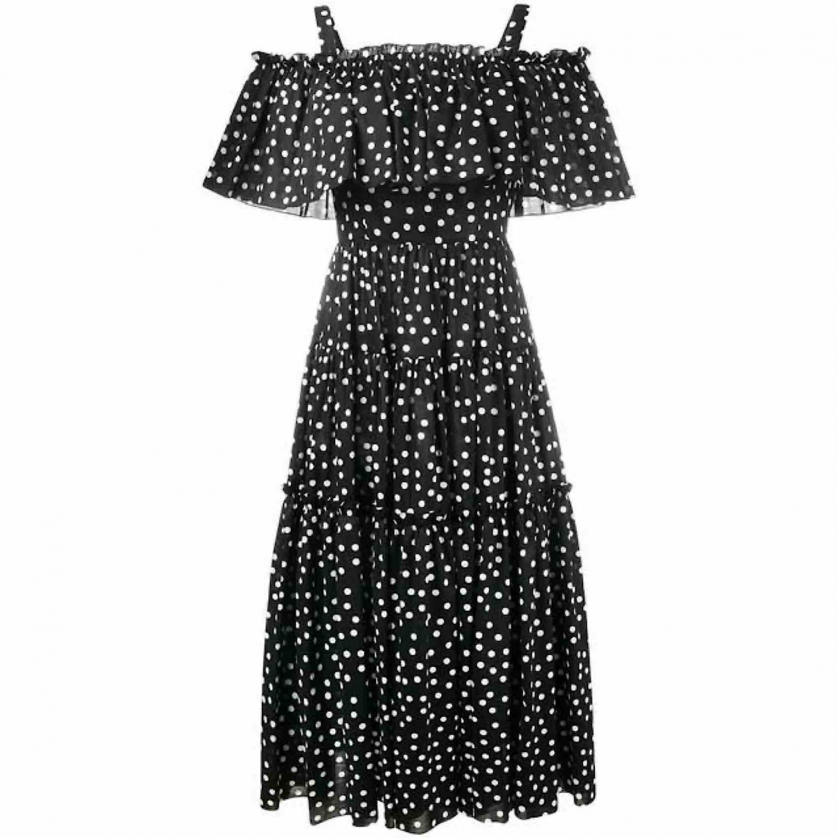 Dolce & Gabbana \N Black Cotton dress for Women 40 IT