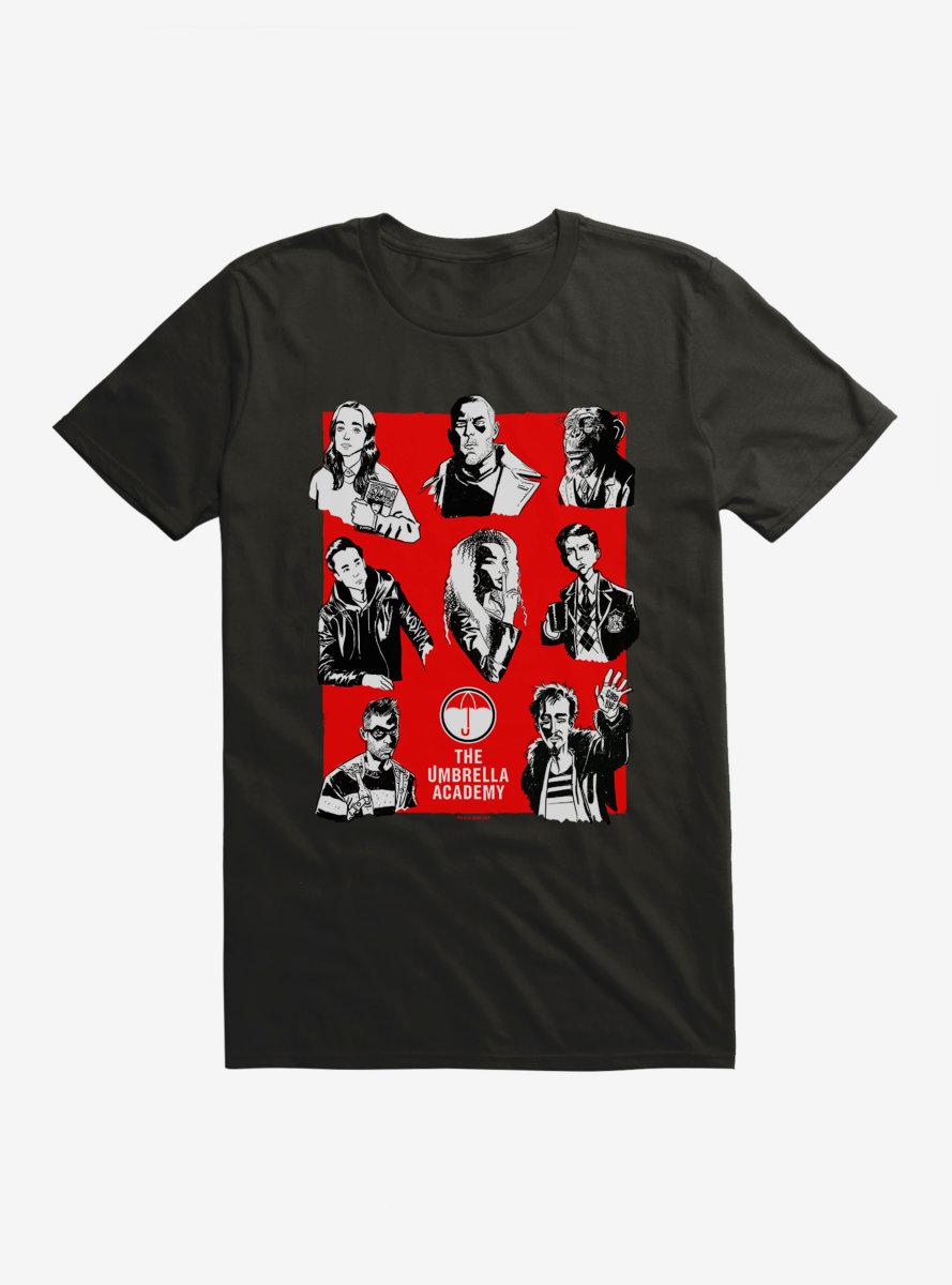 The Umbrella Academy All Members T-Shirt