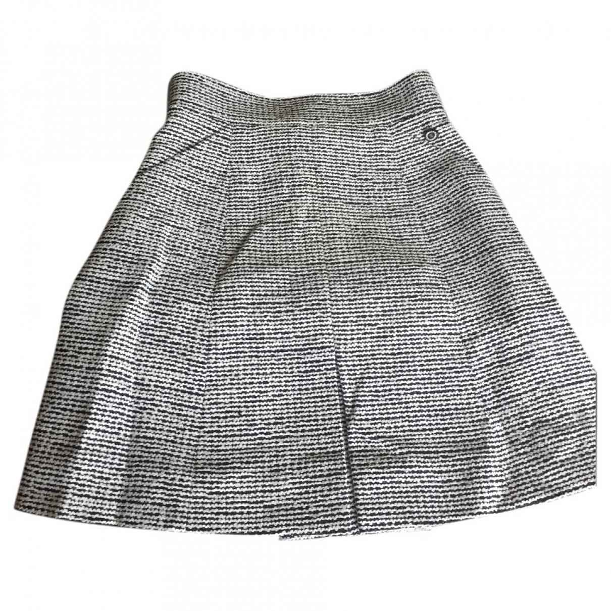 Chanel \N Rocke in  Grau Tweed