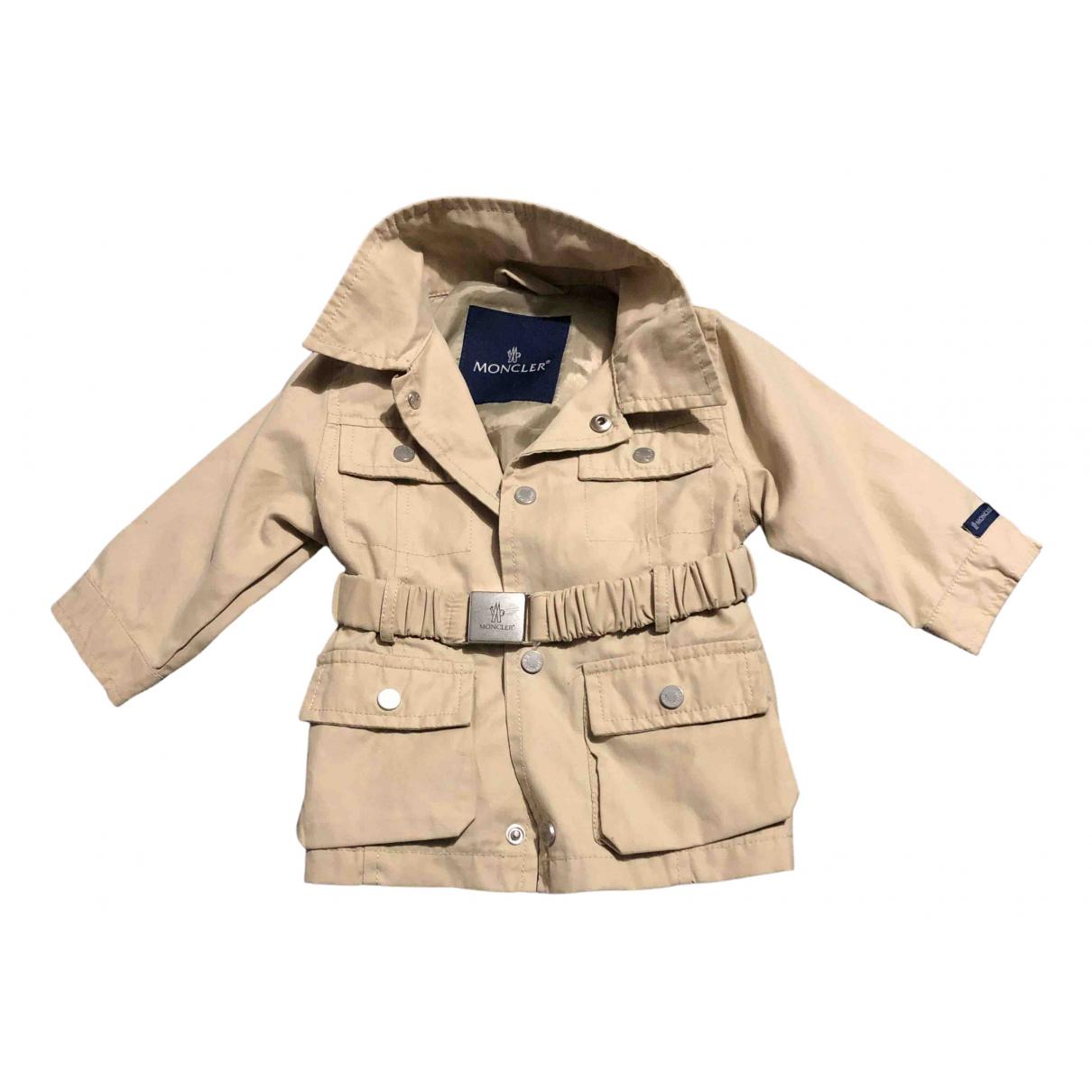 Moncler N Beige Cotton jacket & coat for Kids 6 months - up to 67cm FR