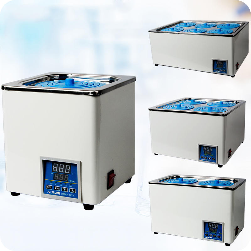1/2/4/6 Hole 220V Digital Thermostatic Lab Water Bath Selectable Openings Laboratory Electric Water Boiler RT to 99.9℃ 3