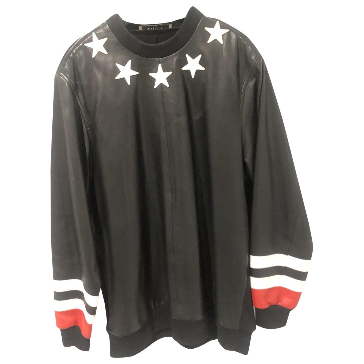 Givenchy \N Black Leather Knitwear & Sweatshirts for Men XL International
