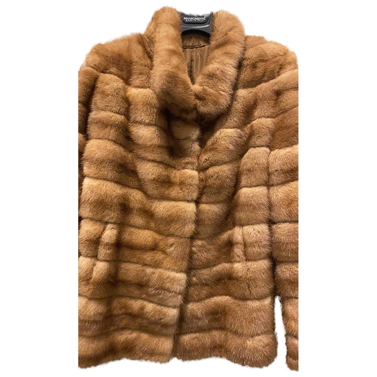Non Signé / Unsigned \N Mink jacket for Women 42 IT