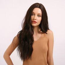Lange lockige Haarperuecke