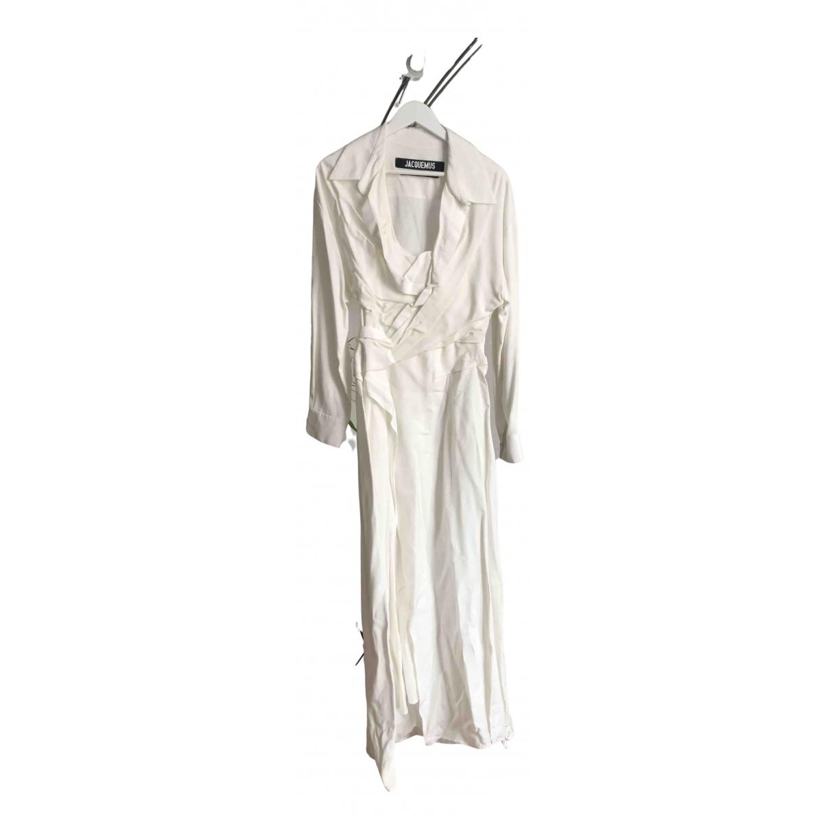 Jacquemus - Robe Le Souk pour femme en coton - beige