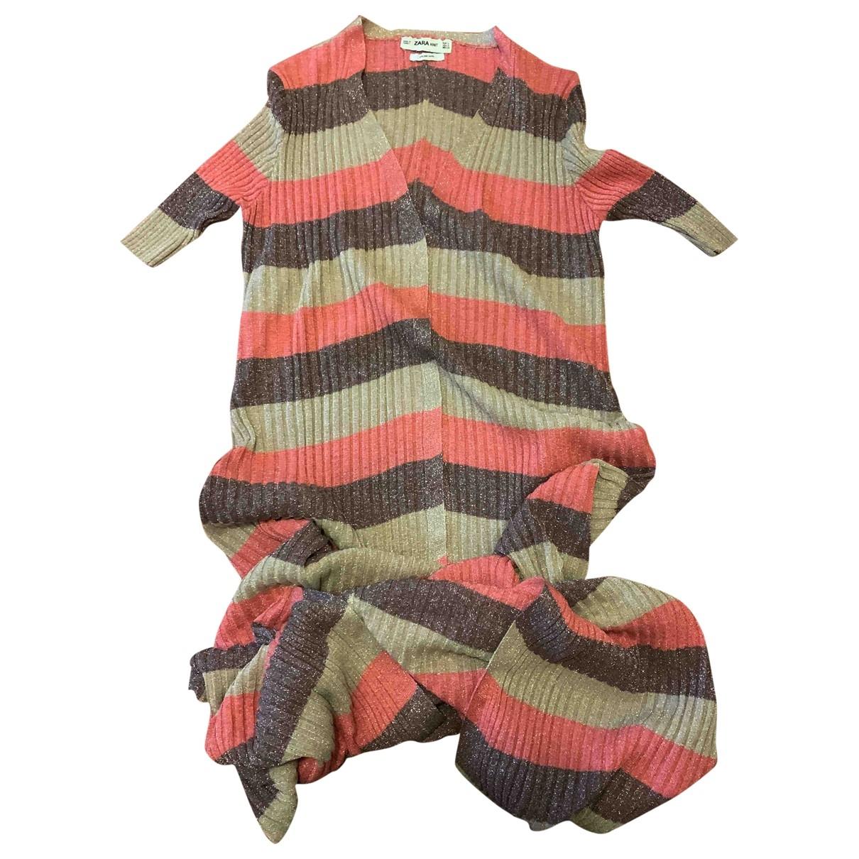 Zara \N Kleid in Baumwolle