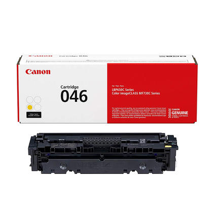Canon 046 1247C001 Original Yellow Toner Cartridge