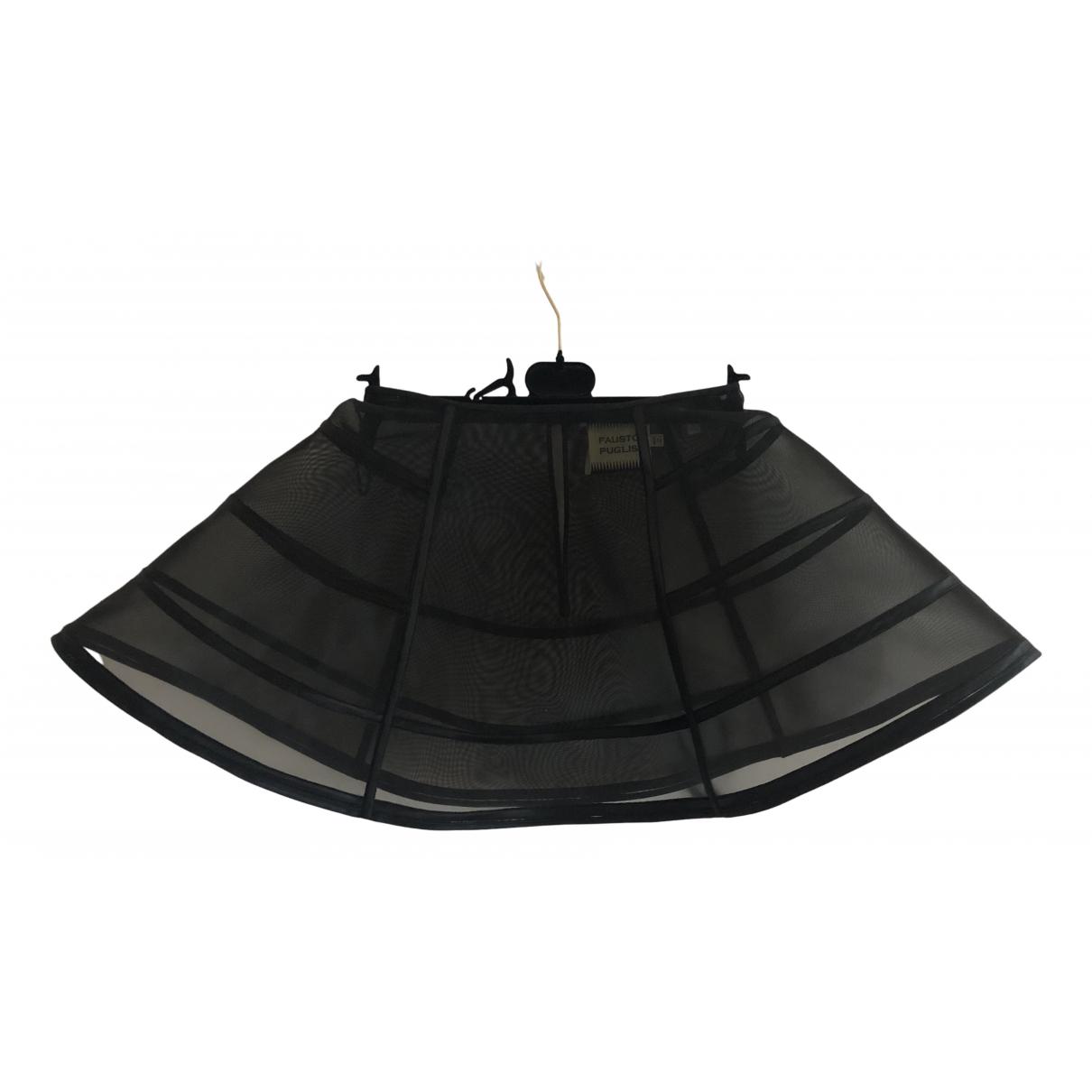 Fausto Puglisi N Black skirt for Women 38 IT