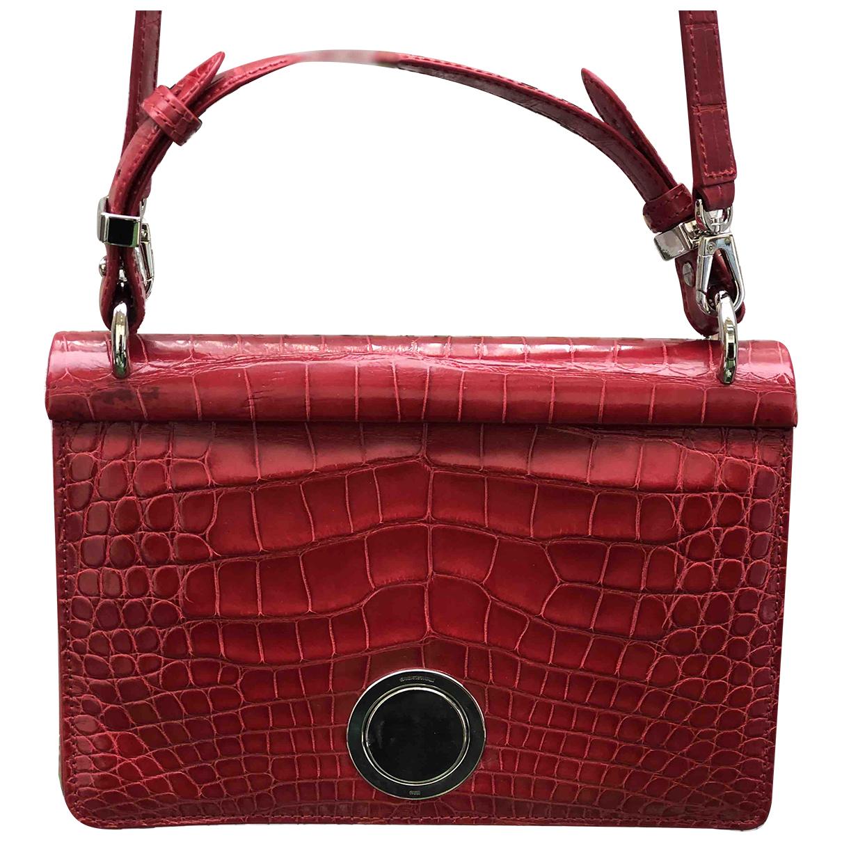 Giambattista Valli N Red Crocodile handbag for Women N