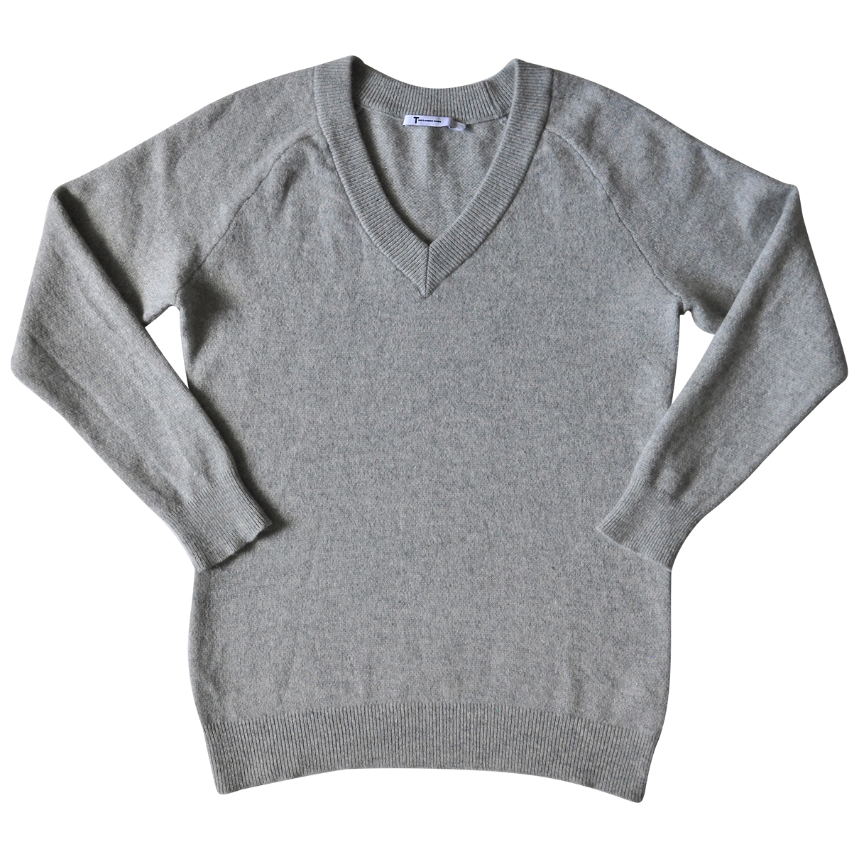T By Alexander Wang \N Pullover in  Grau Wolle
