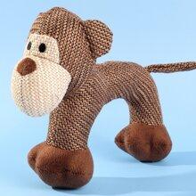 Klangspielzeug in Affenform fuer Hunde
