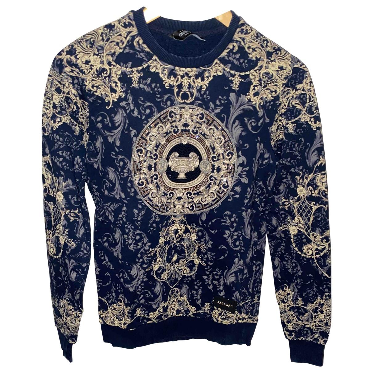 George V \N Pullover.Westen.Sweatshirts  in  Blau Baumwolle