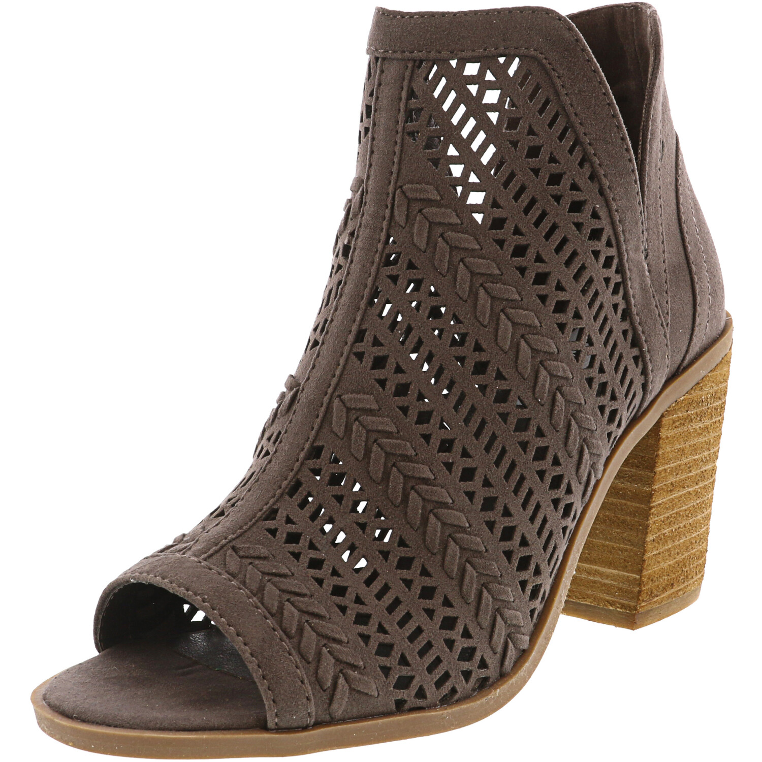 Steve Madden Women's Pyramid Stone Ankle-High Fabric Boot - 6.5M
