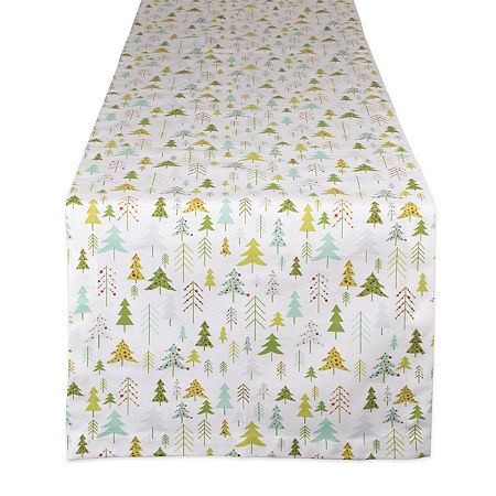 Design Imports Holiday Woods Table Runner, One Size , Multiple Colors