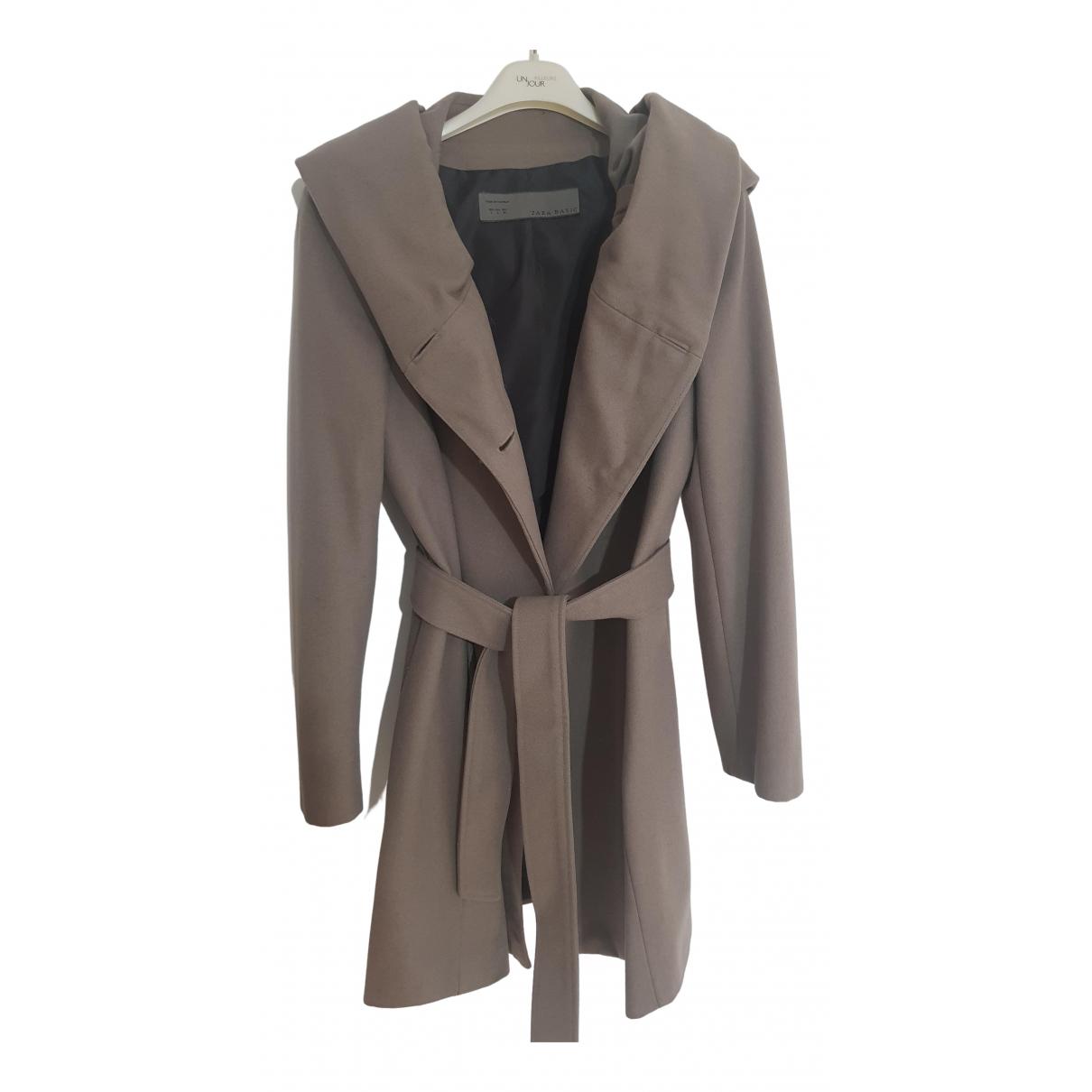 Zara - Manteau   pour femme en laine - anthracite