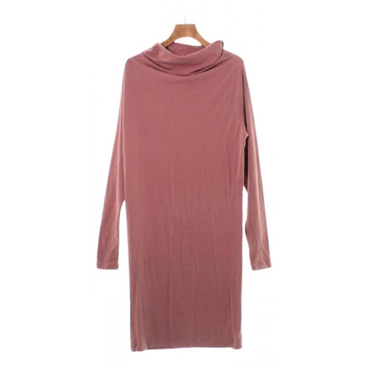 Maison Martin Margiela N Pink Wool dress for Women 40 FR