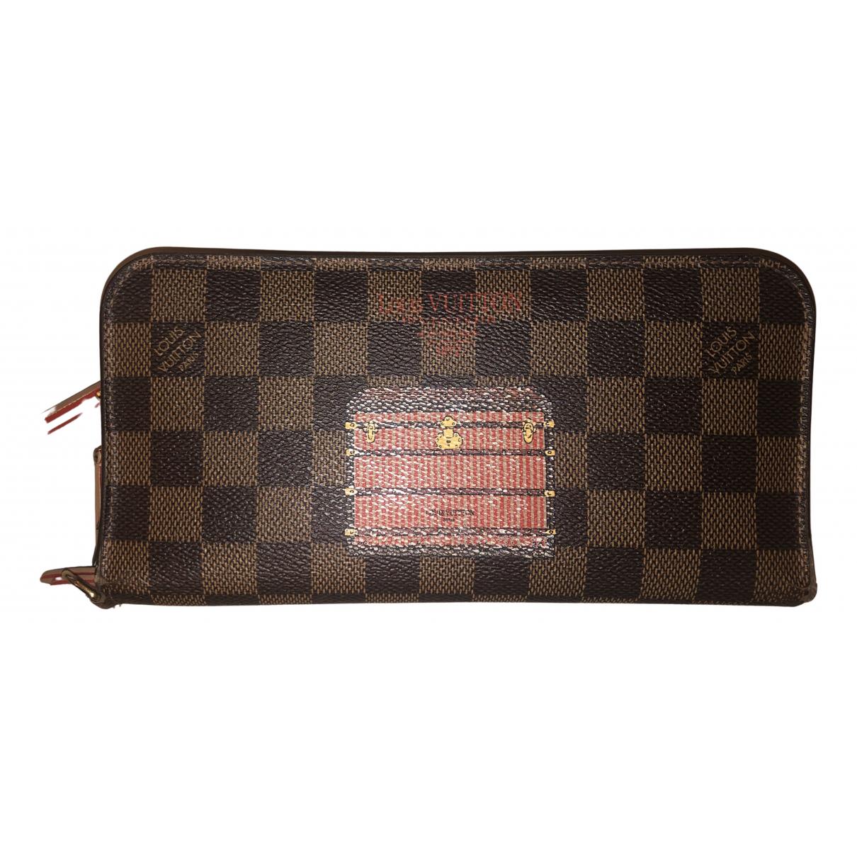 Louis Vuitton - Portefeuille   pour femme en toile - marron