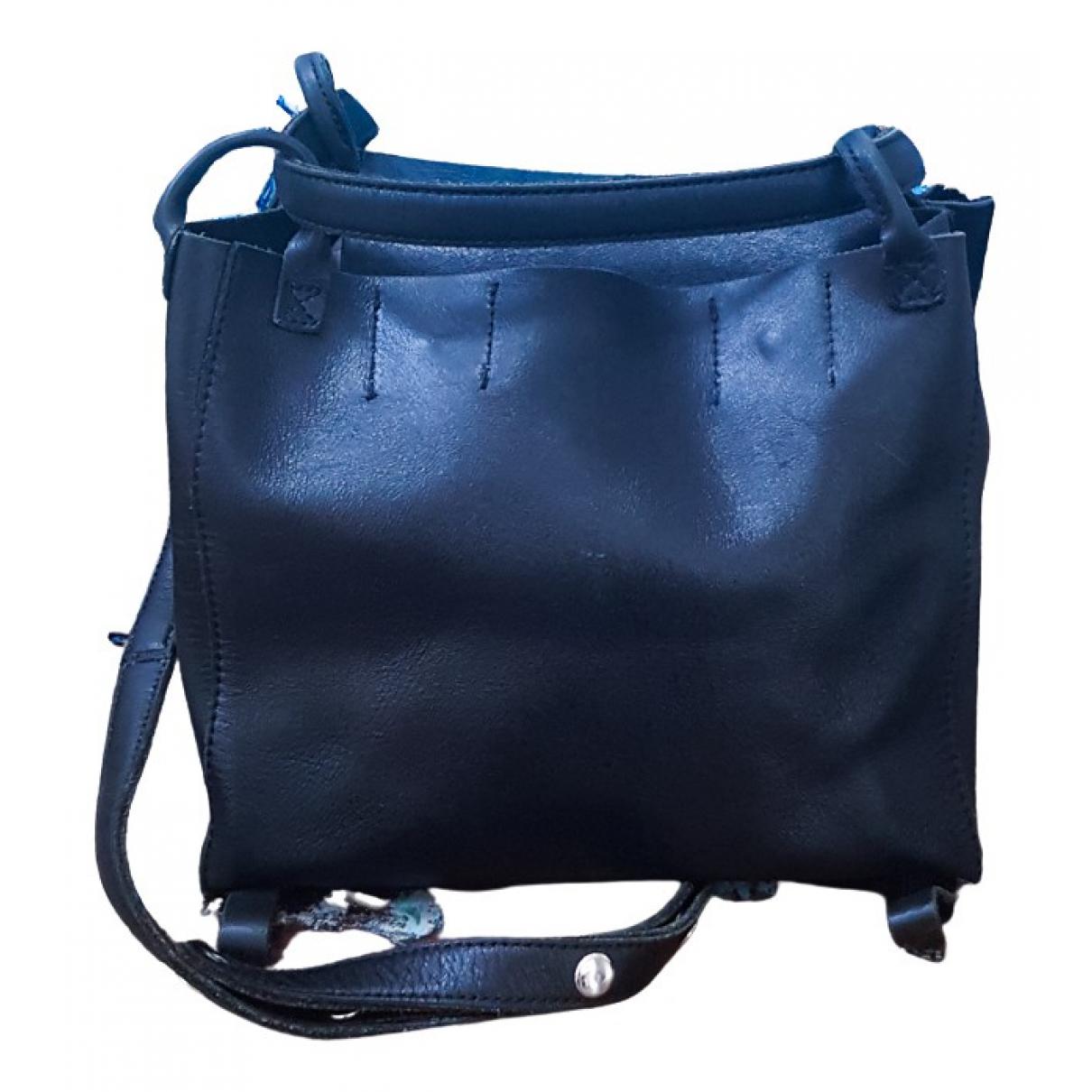 Yohji Yamamoto \N Handtasche in  Schwarz Leder