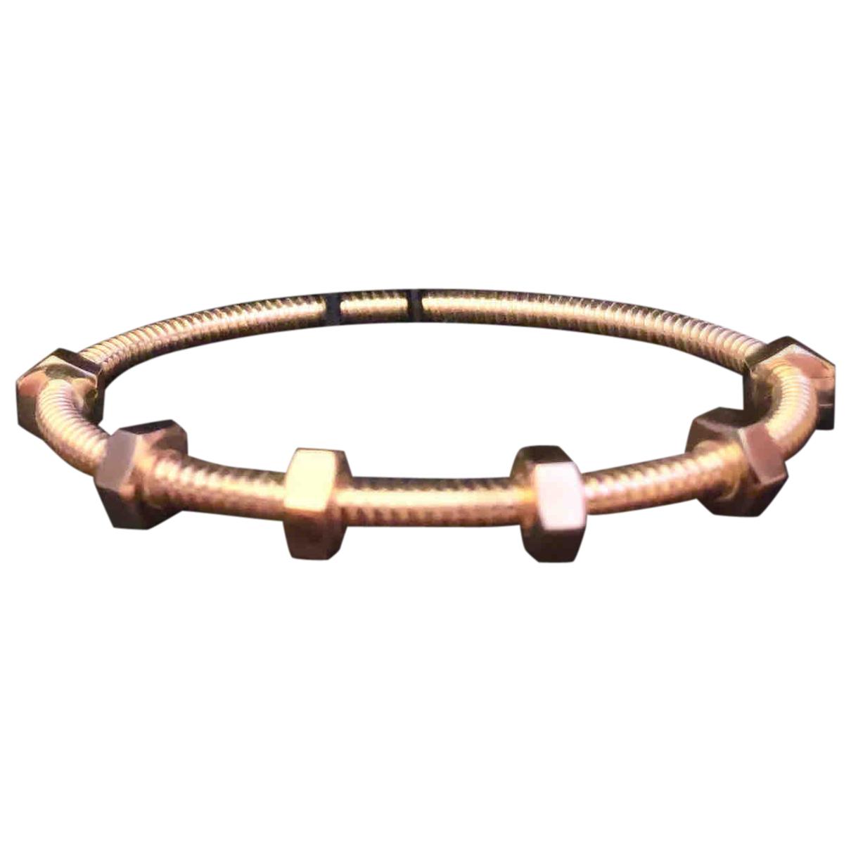 Cartier - Bracelet Ecrou pour femme en or rose - dore