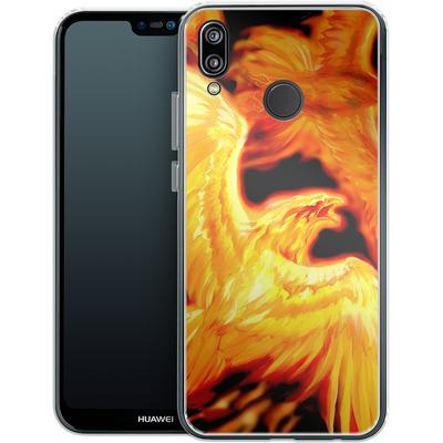 Huawei P20 Lite Silikon Handyhuelle - Ruth Thompson - Phoenix Dawn von TATE and CO