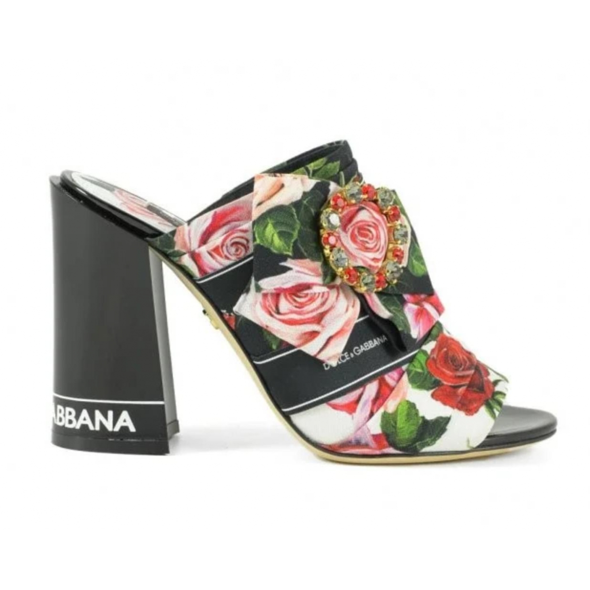 Dolce & Gabbana \N Multicolour Cloth Sandals for Women 39 IT