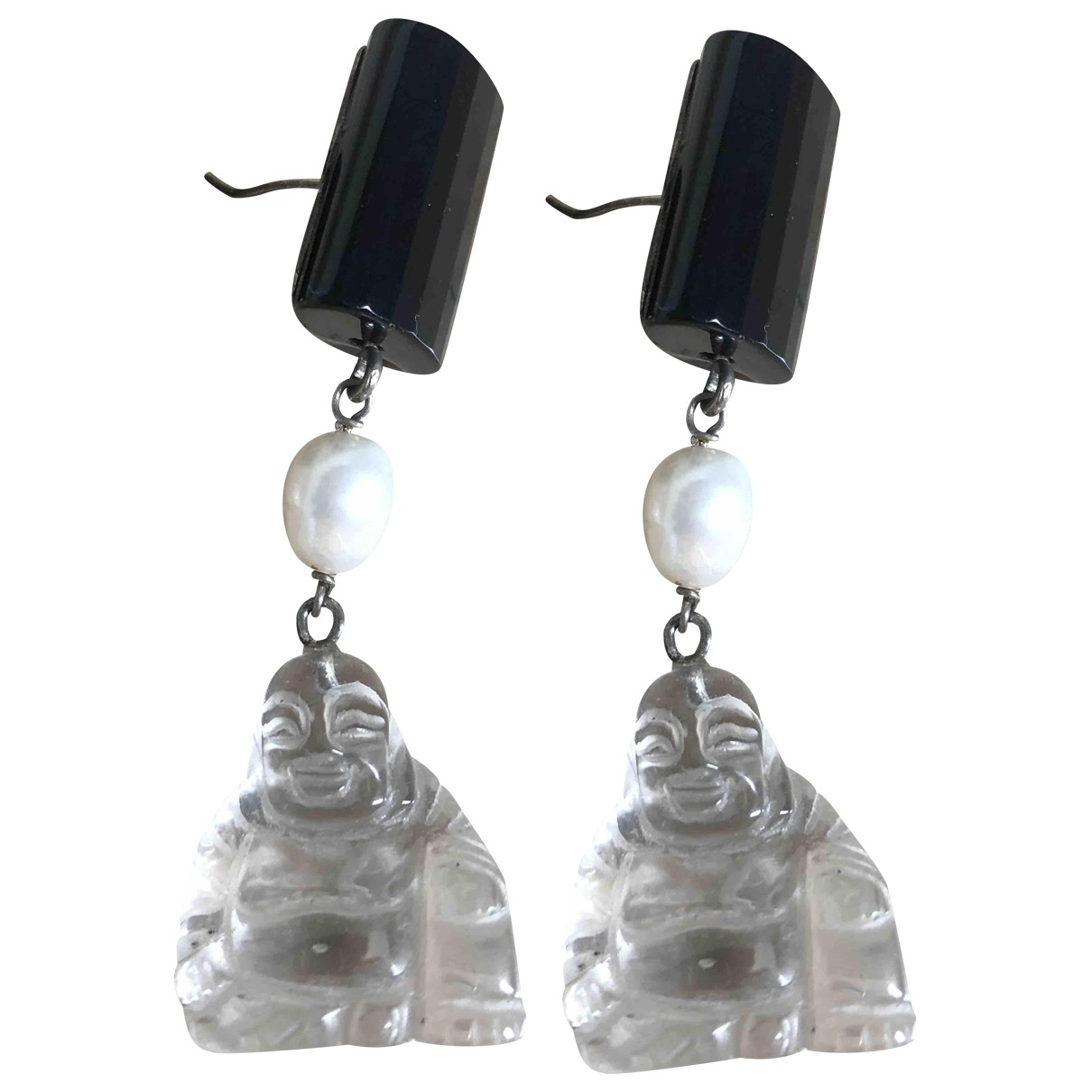 Non Signé / Unsigned Motifs Religieux Earrings for Women \N