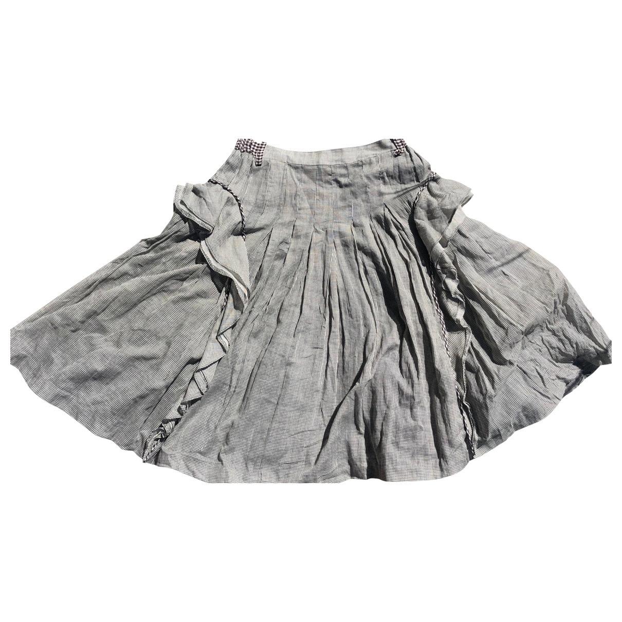 Wunderkind - Jupe   pour femme en coton - gris
