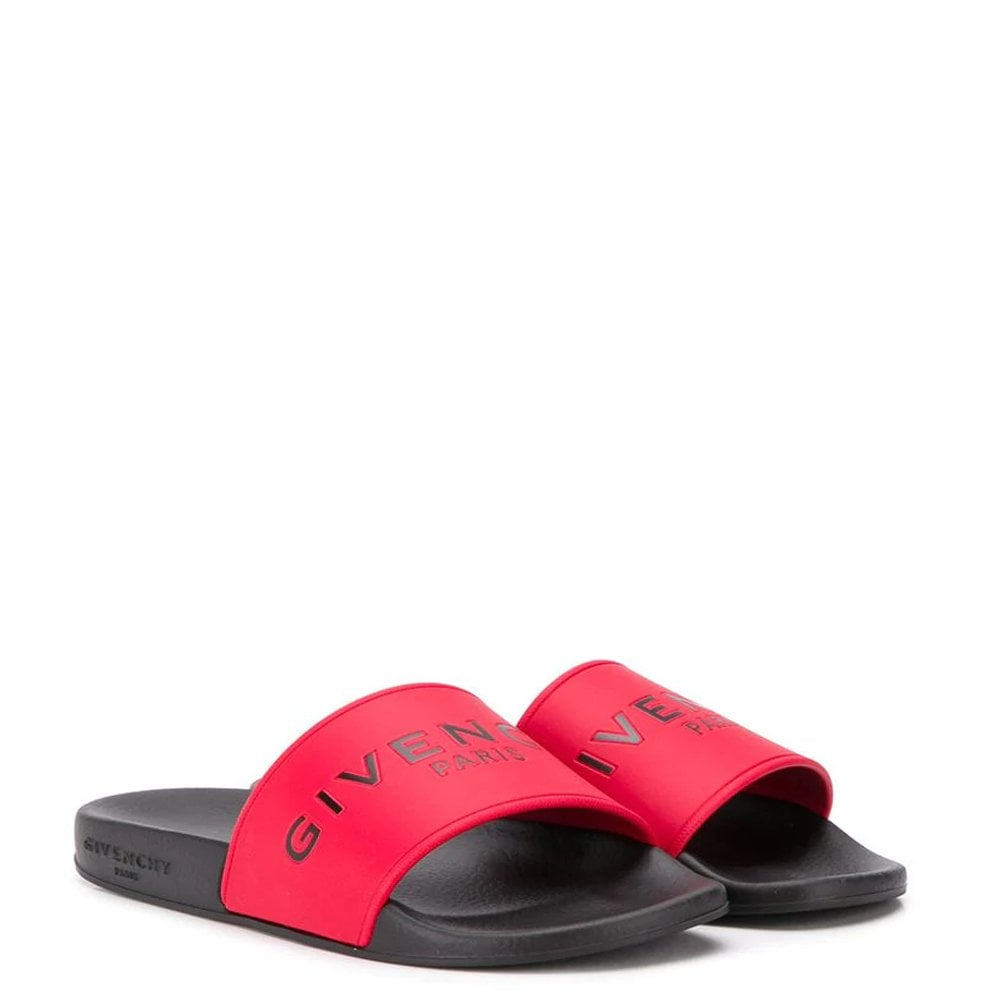 Givenchy Black/red Sliders Colour: BLACK, Size: 29