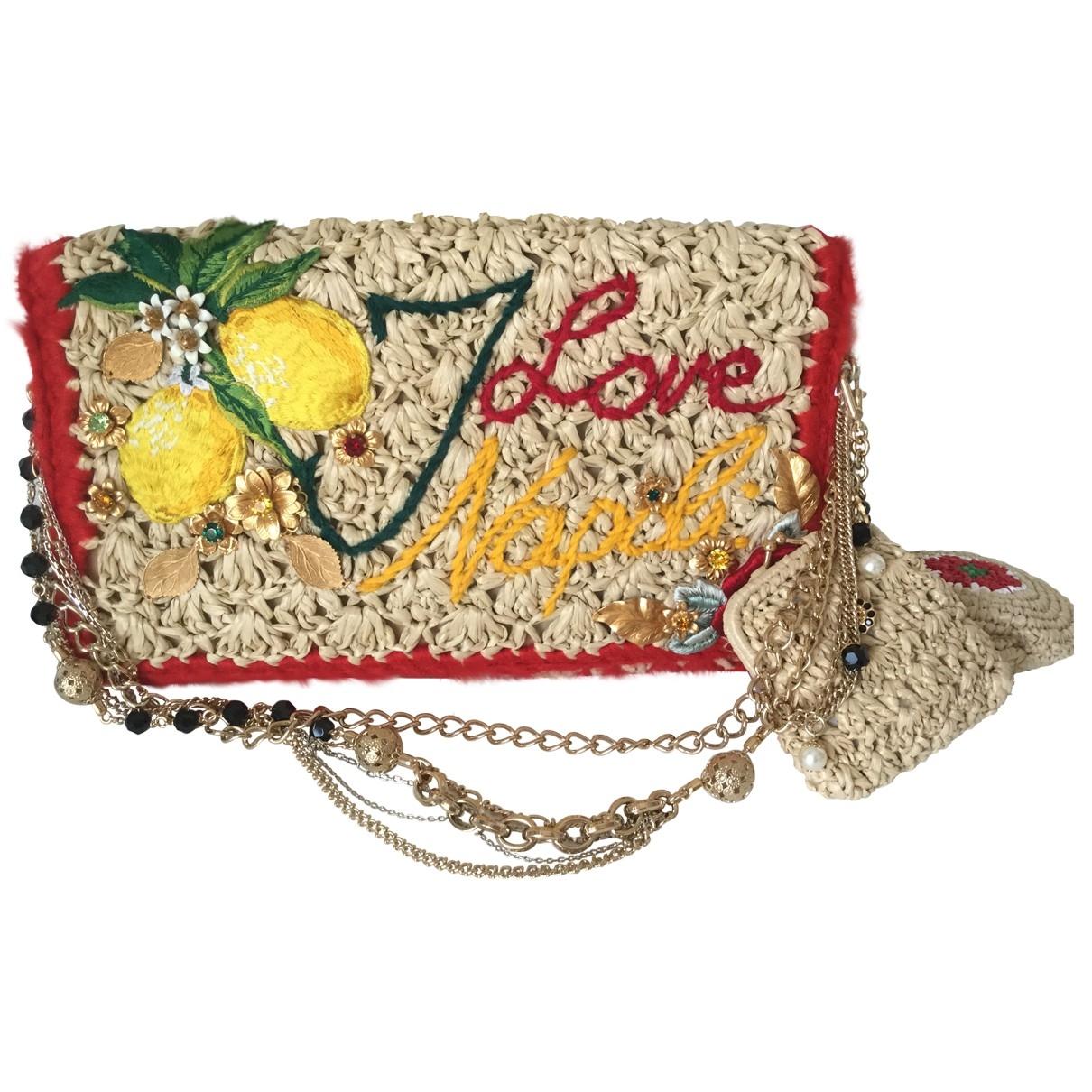 Dolce & Gabbana \N Ecru Wicker handbag for Women \N