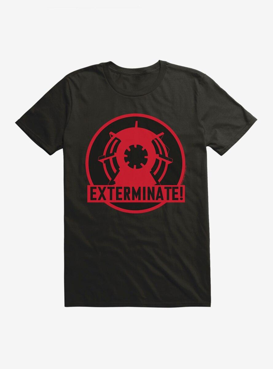 Doctor Who Exterminate Exterminate T-Shirt