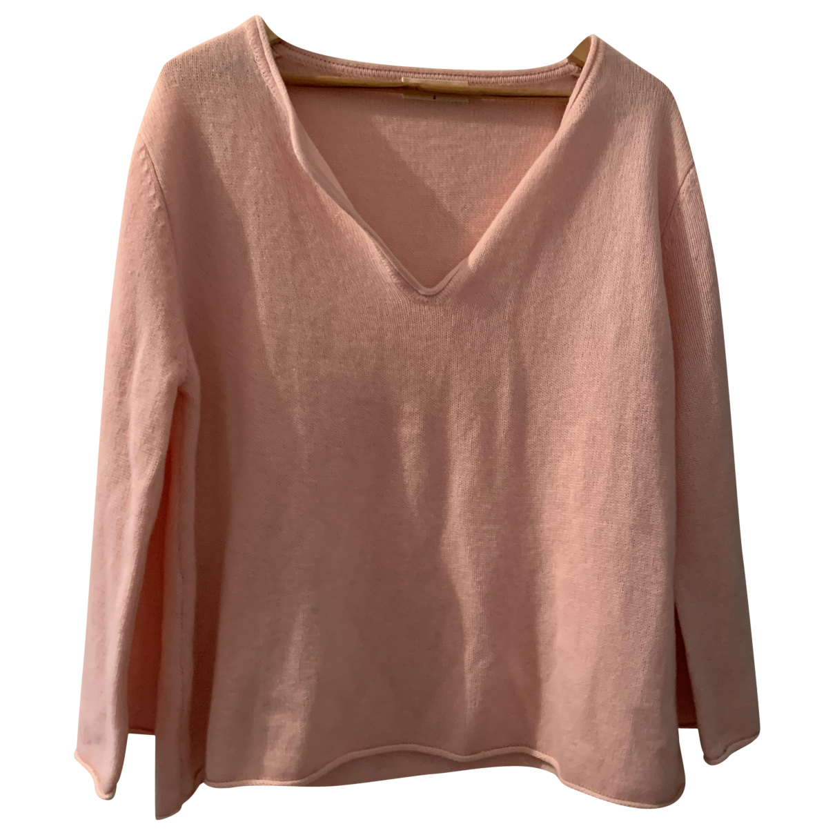 Ba&sh \N Pullover in  Rosa Kaschmir