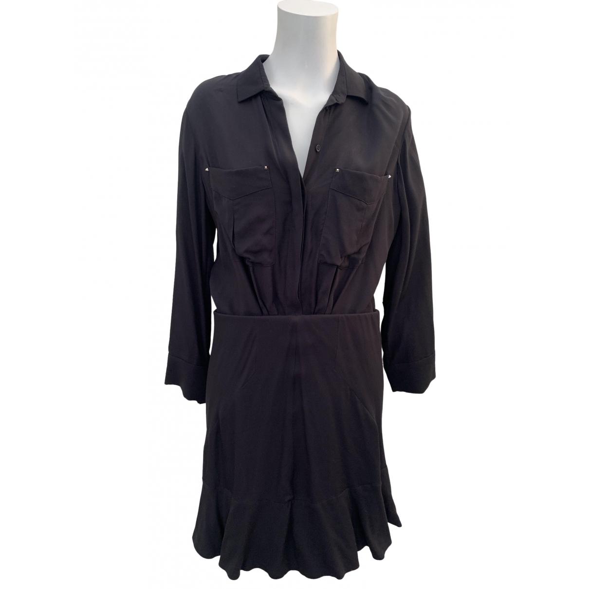 Iro \N Kleid in  Schwarz Viskose