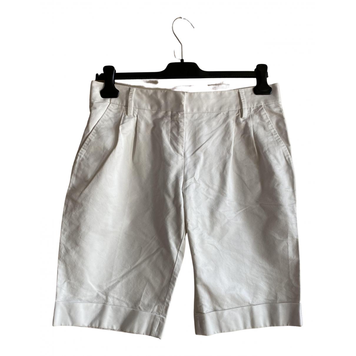 D&g \N Shorts in  Weiss Baumwolle