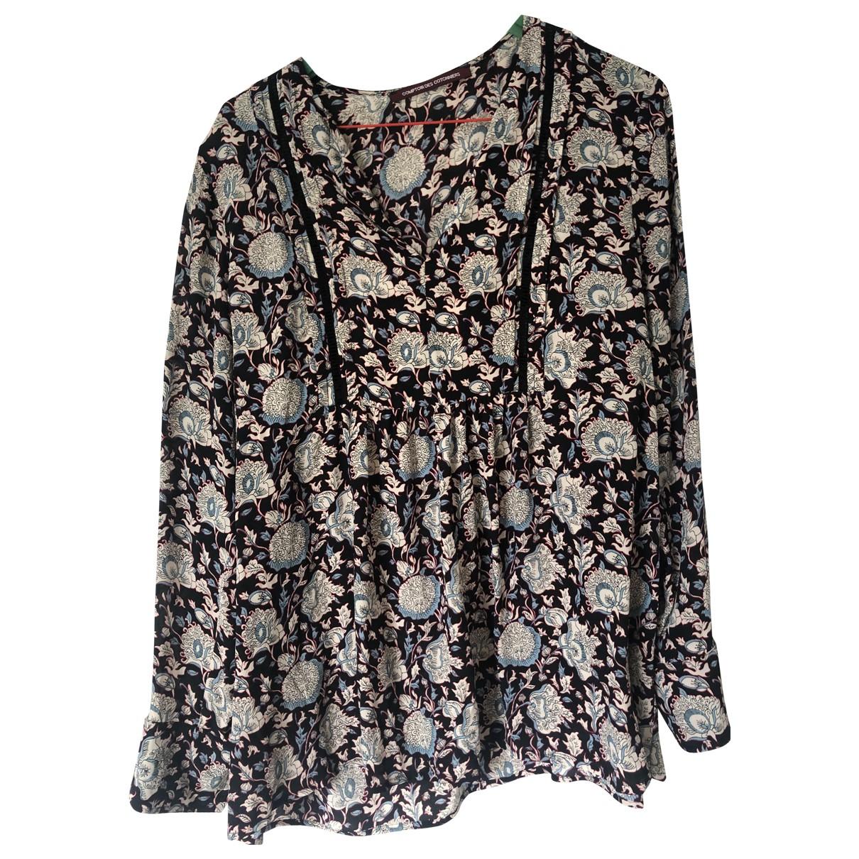 Blusa de Seda Comptoir Des Cotonniers