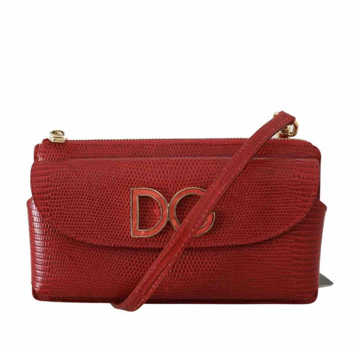 Dolce & Gabbana - Sac a main Millenials pour femme en cuir - rouge