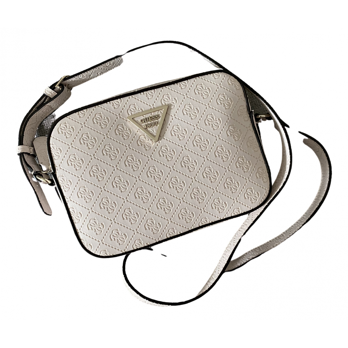 Guess N Pink Leather handbag for Women N