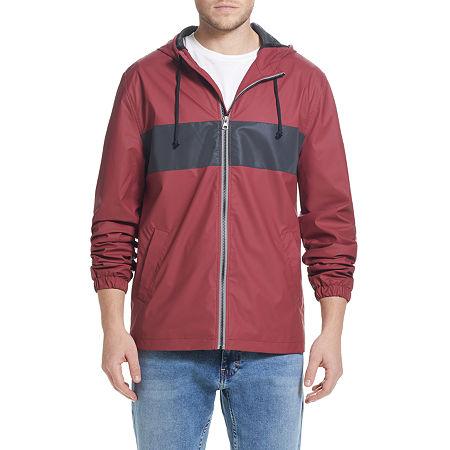 American Threads Rain Slicker Lightweight Raincoat, Xx-large , Red