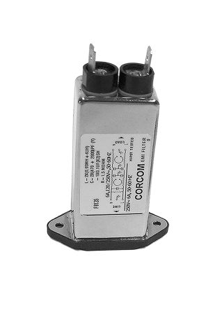 TE Connectivity ,10A,250 V ac Male Flange Mount IEC Filter 2-6609006-4,Spade None Fuse