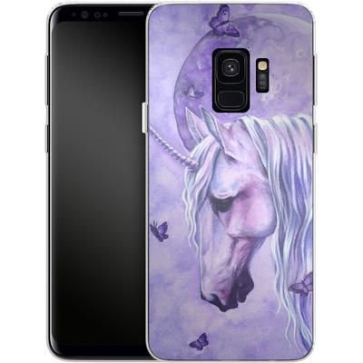 Samsung Galaxy S9 Silikon Handyhuelle - Moonlit Magic von Selina Fenech