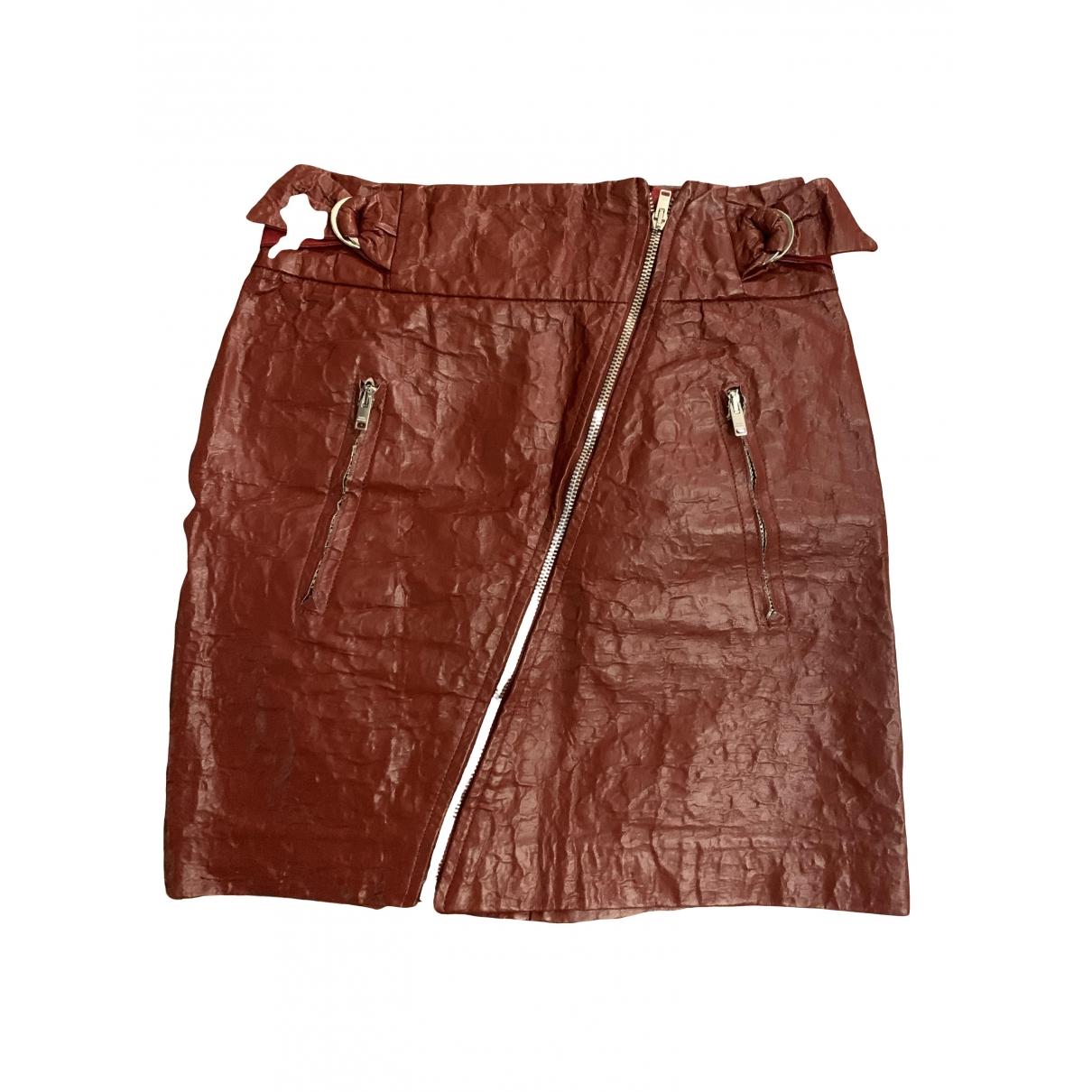 Mini falda de Cuero Isabel Marant