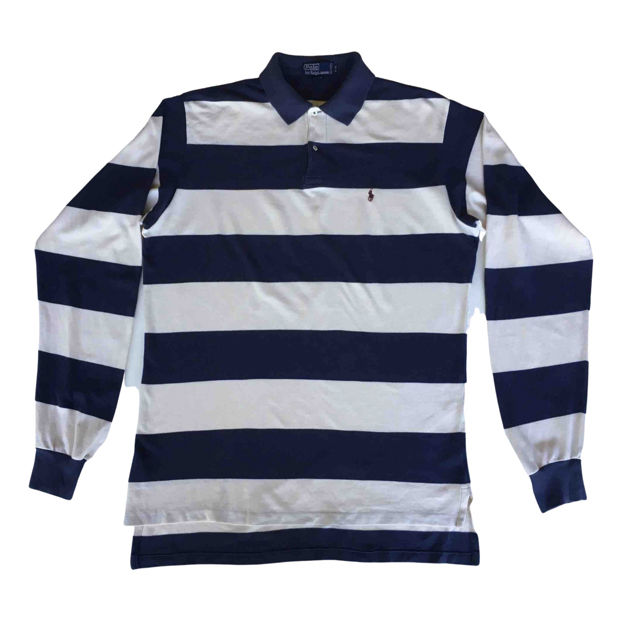 Polo Ralph Lauren Polo classique manches longues Poloshirts in  Blau Baumwolle