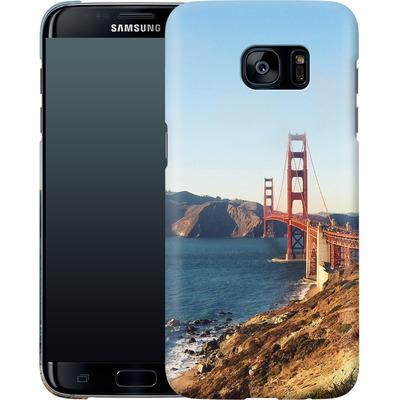 Samsung Galaxy S7 Edge Smartphone Huelle - Golden Gate Galore von Omid Scheybani