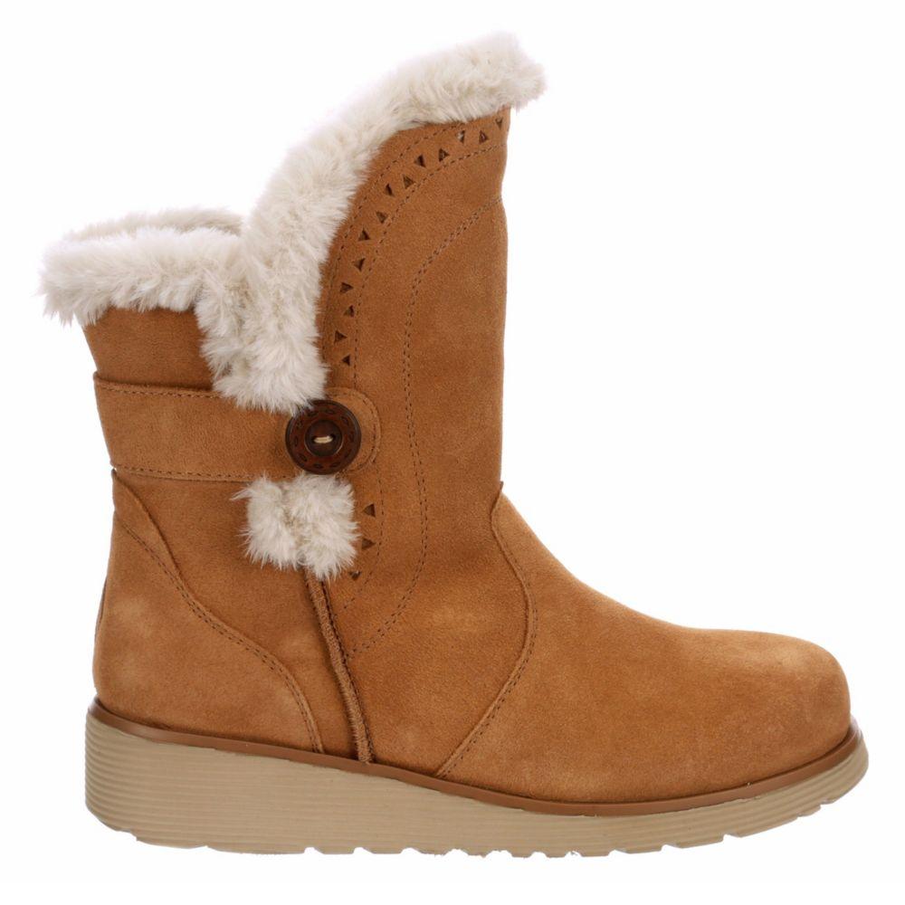 Skechers Modern Womens Cozy Peak Fur Boot