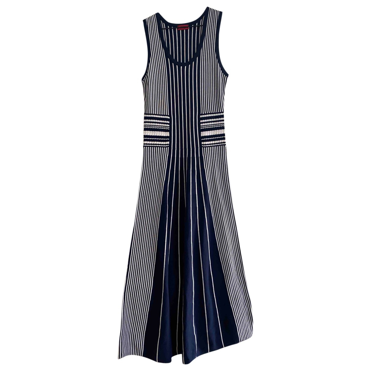Hugo Boss \N Blue Cotton dress for Women 34 FR