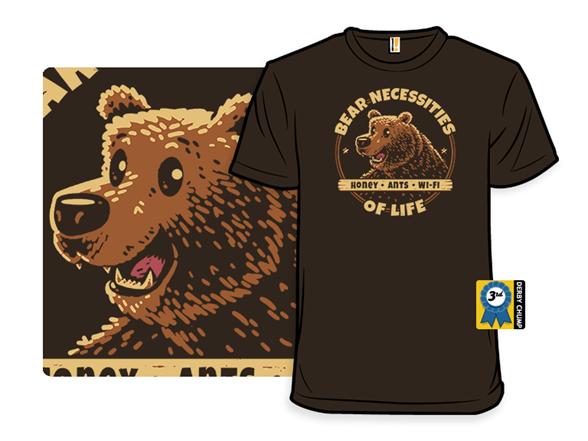 Bear Necessities T Shirt
