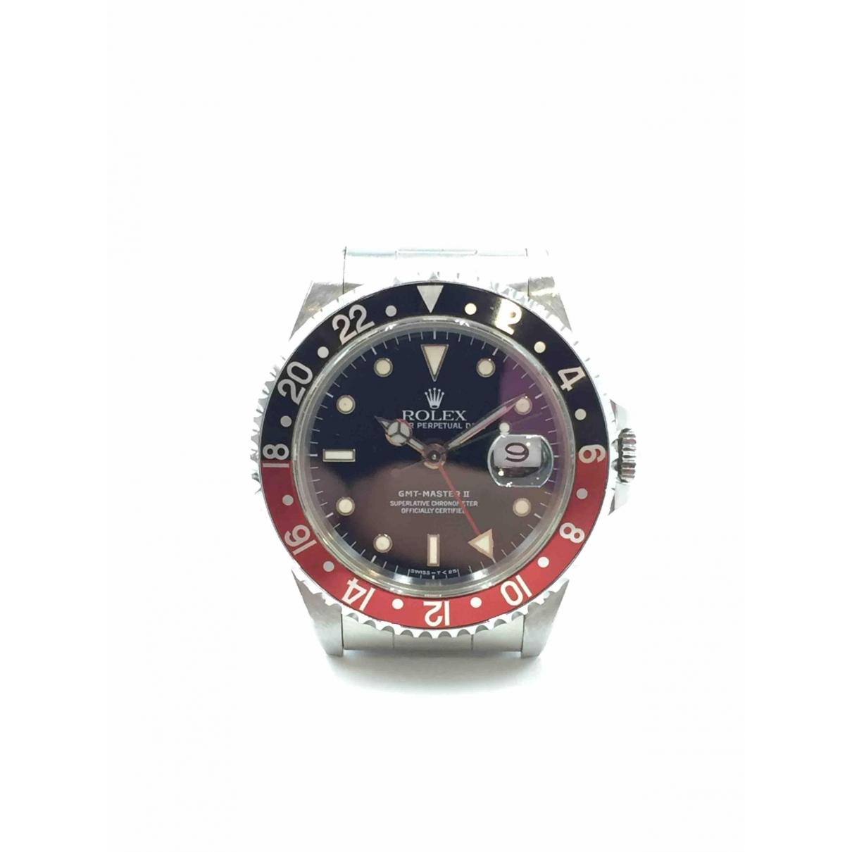 Rolex GMT-Master II Black Steel watch for Men \N