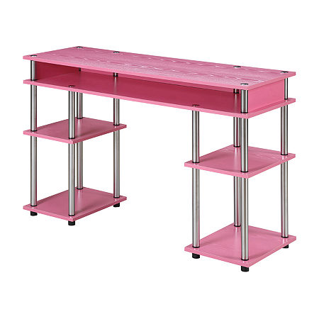 Lola Student Desk, One Size , Pink