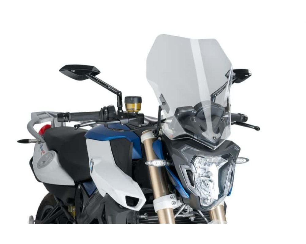 Puig 8187W Naked New Gen Touring Windscreen - Clear BMW F800R 2016
