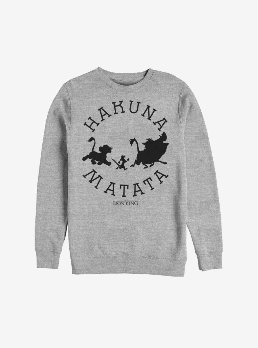 Disney The Lion King Hakuna Round Sweatshirt