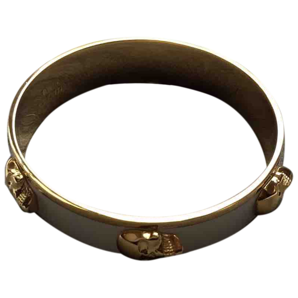 Alexander Mcqueen \N Armband in  Gruen Vergoldet